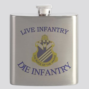 1st Bn 38th Infantry cap3 Flask