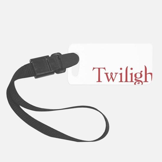 twilighta Luggage Tag