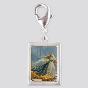Spring_Poster Silver Portrait Charm