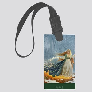 Spring_Poster Large Luggage Tag