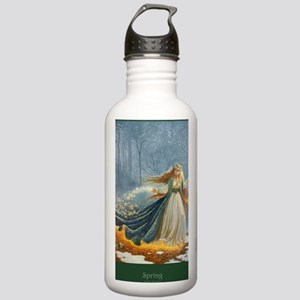 Spring_Poster Stainless Water Bottle 1.0L