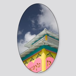 Lucaya: Port Lucaya Marketplace Sig Sticker (Oval)