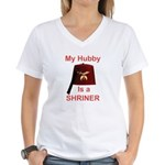Shriners Lady Women's V-Neck T-Shirt