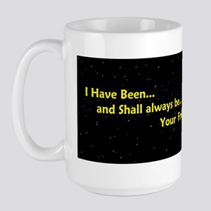 live long and prosperspacbump Large Mug