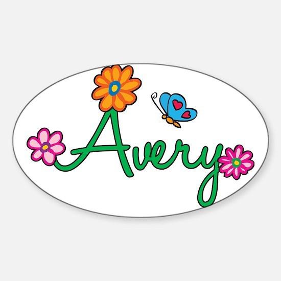 Avery Sticker (Oval)