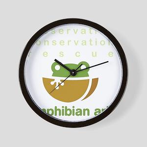Preserve, conserve, rescue Wall Clock