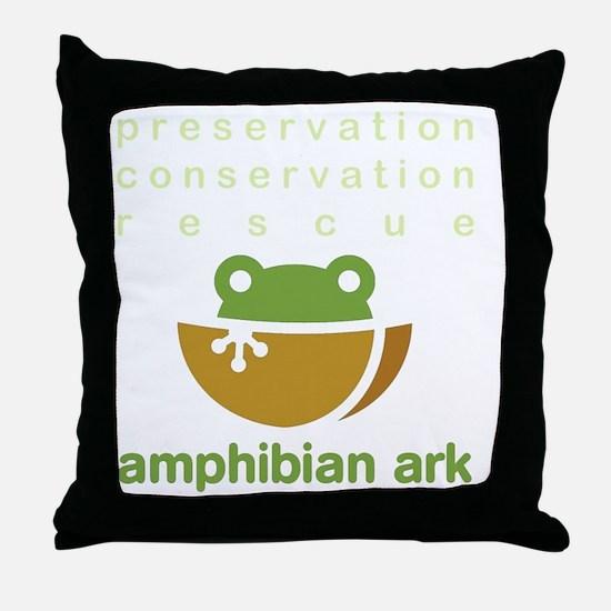 Preserve, conserve, rescue Throw Pillow