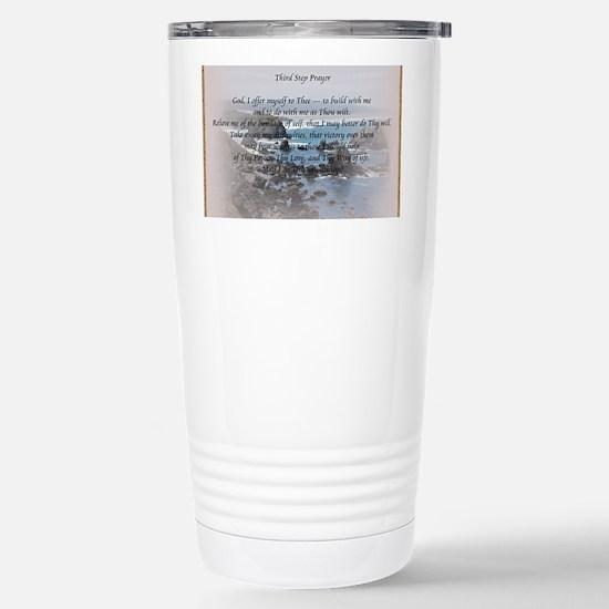 Third Step Prayerr Stainless Steel Travel Mug