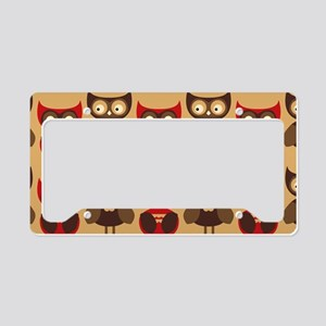 redowlshoulder License Plate Holder
