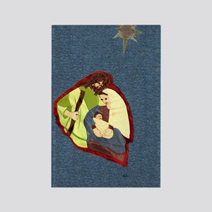 Holy Family Rectangle Magnet