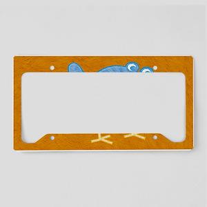 toiletryCuteBird License Plate Holder