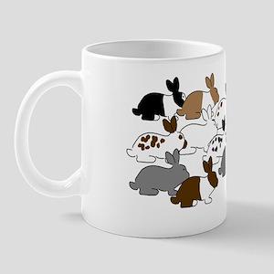 ManyBunniesClutchBag001 Mug