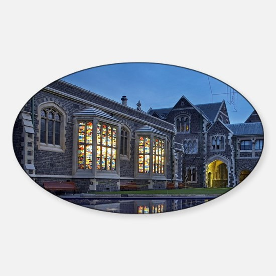 Christchurch Sticker (Oval)