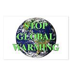 Stop Global Warming Postcards (Package of 8)