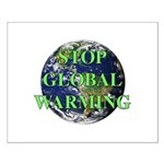 Stop Global Warming Small Poster