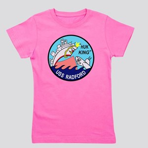 DD-446 USS Radford US NAVY Destroyer Mi Girl's Tee