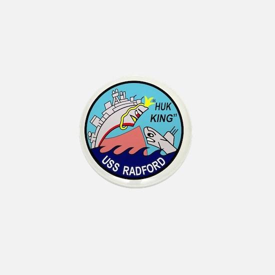 DD-446 USS Radford US NAVY Destroyer M Mini Button