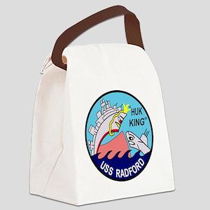 DD-446 USS Radford US NAVY Destro Canvas Lunch Bag