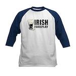 Irish Foreplay Beer Kids Baseball Jersey
