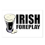 Irish Foreplay Beer Postcards (Package of 8)