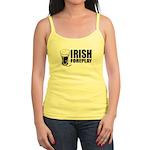 Irish Foreplay Beer Jr. Spaghetti Tank
