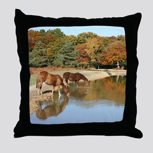 November CP Throw Pillow