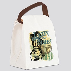 jazzin the blues master copy Canvas Lunch Bag