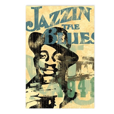 the blues book of postcards