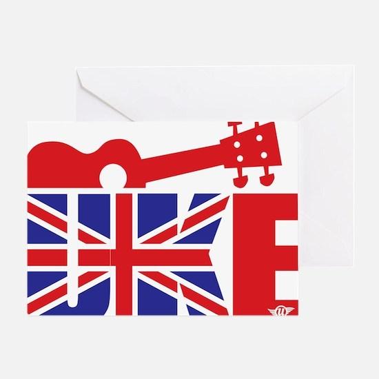 UK-E Ukulele Greeting Card