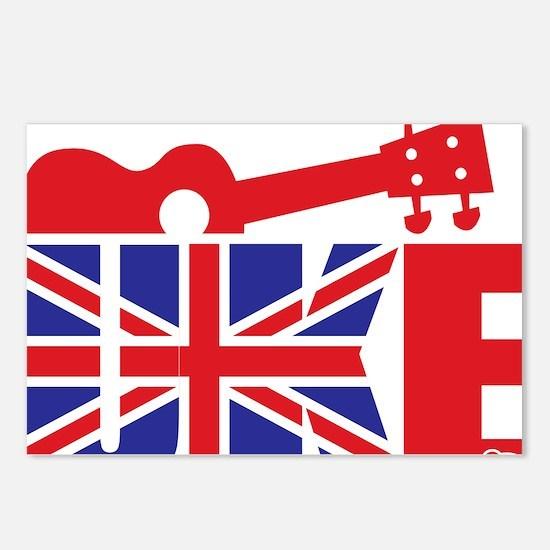 UK-E Ukulele Postcards (Package of 8)