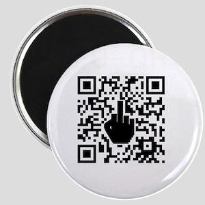 FUQR Black Shirt Design Magnet