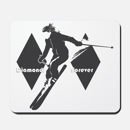 diamonds forever Mousepad
