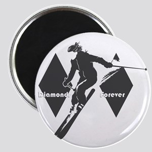 diamonds forever Magnet