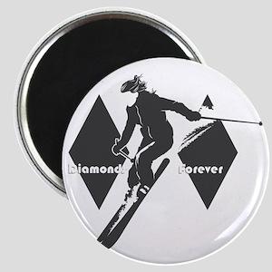 diamonds forever Magnet