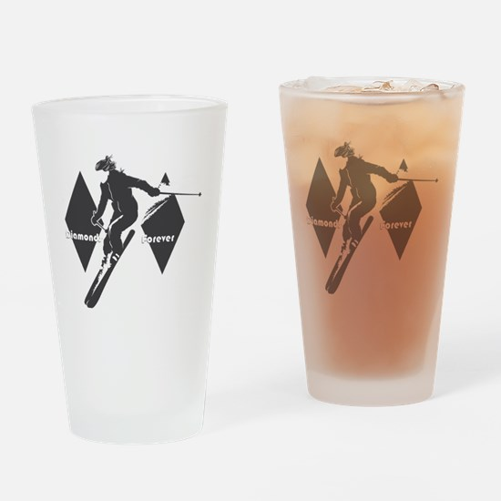 diamonds forever Drinking Glass