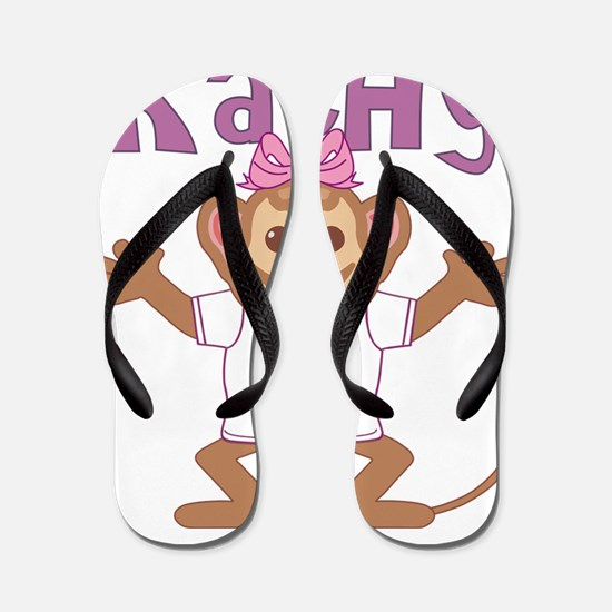 kathy-g-monkey Flip Flops