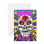 Sugar Skull Greeting Cards
