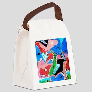 midnite Canvas Lunch Bag