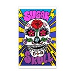 Sugar Skull 35x21 Wall Decal