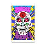 Sugar Skull 20x12 Wall Decal