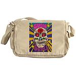 Sugar Skull Messenger Bag