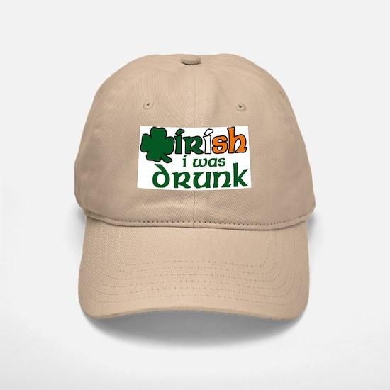 Irish I Was Drunk Tri-color Baseball Baseball Cap