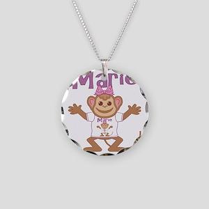 marie-g-monkey Necklace Circle Charm