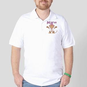 marie-g-monkey Golf Shirt