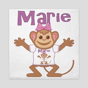 marie-g-monkey Queen Duvet