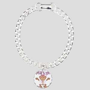 marilyn-g-monkey Charm Bracelet, One Charm