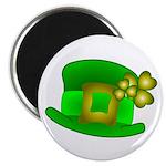 Shamrock Hat Magnet