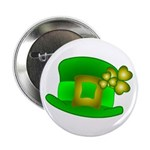 Shamrock Hat Button