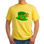 Shamrock Hat Yellow T-Shirt