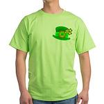 Shamrock Hat Green T-Shirt